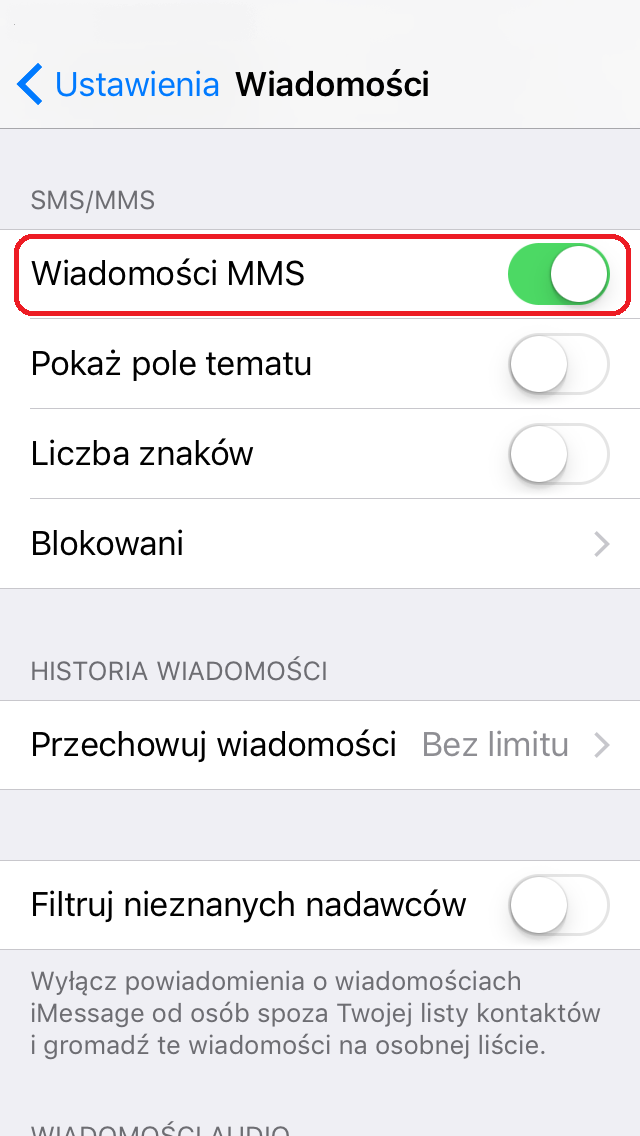 Slide - konf MMS - IOS 7